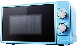L.TSA Cocina 20L Pequeño Horno de microondas Multifuncional 220V Calentador de Alimentos Giratorio mecánico Cocina de Cocina para Vapor/calefacción/ebullición, Rosa