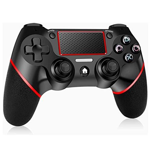 Elyco Manette pour PS4, sans Fil Joystick Wireless Bluetooth Joypad Controller Gamepad Mini-LED Compatible avec Playstation 4 / Pro/Slim / PS3