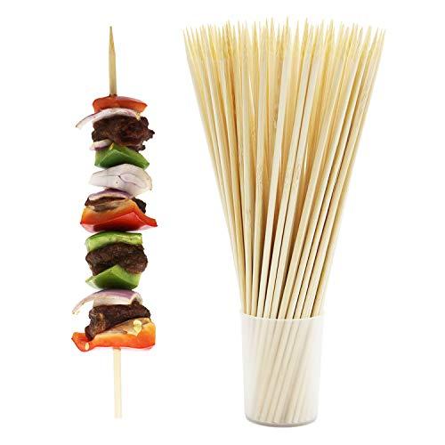 60 x Jumbo Bambou brochettes pour barbecue Kebab Fruit fontaine de chocolat Stick