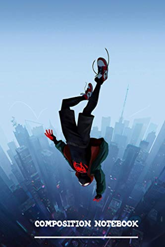 Miles Morales Jump Notebook: (110 Pages, Lined, 6 x 9)
