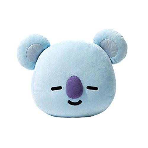 Kingmia BTS Bangtan Boys BTS Kissen BTS Pillow Cute Cartoon Plüsch Puppe Dekokissen Kissen BTS Jimin Geschenk für a.r.m.y BTS Perfekt für Sofa Wohnkultur 45cm*55cm BTS KOYA(H12)