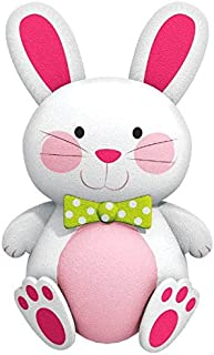 """amscan Egg-stra Cute Plush Easter Bunny Party Favour, Plush, 6"""""""