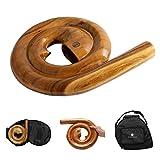 Australian Treasures - Australian Treasures Spiral Travel Didgeridoo - AT-Spiral compresa la borsa spiraldidgeridoo