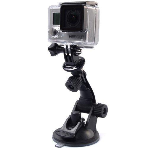 Shoot® zuignaphouder voor GoPro Hero 6/5/4/3/2, Action Cams verschillende maten