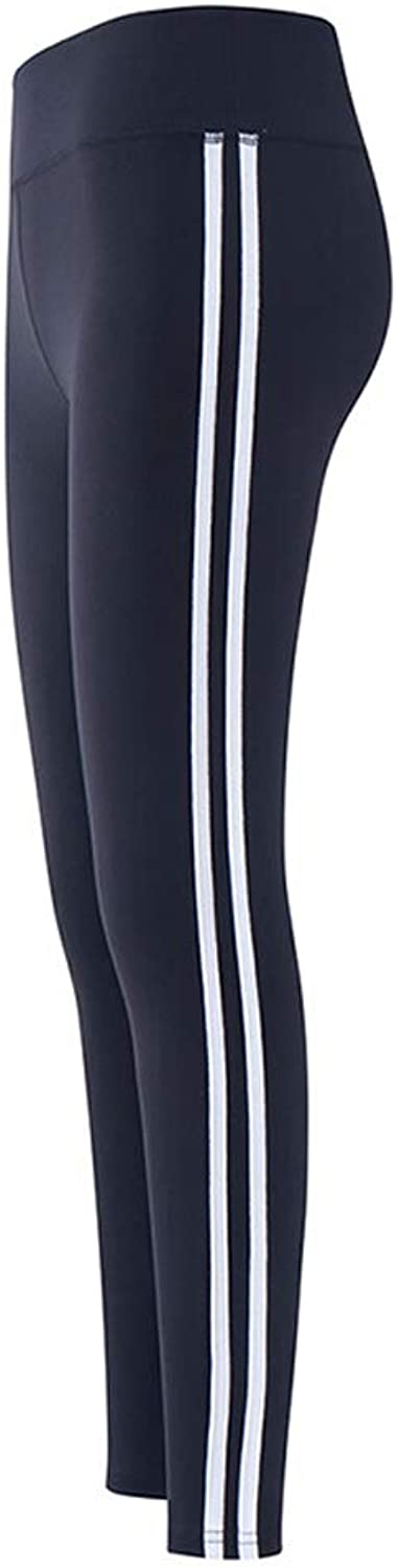 Yoga Pants Tight Autumn and Winter Yoga Pants Women Tight Outside Wearing Running Gym Sports Pants Black (color   Black, Size   L)