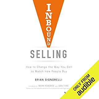 Inbound Selling audiobook cover art