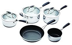 MasterClass Five Piece Deluxe Cookware