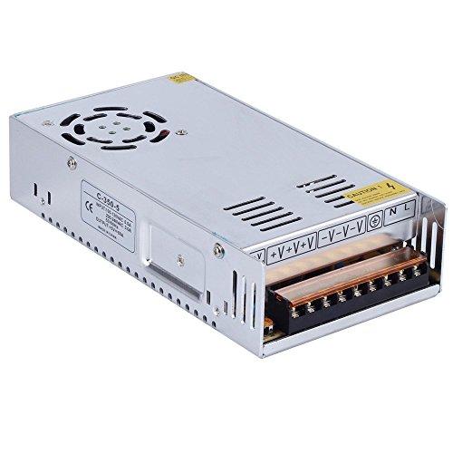 CHINLY AC 110/220V a DC5V 60A 300W Trasformatore di alimentazione dell'interruttore del driver del LED Per WS2811 2801 WS2812B WS2813 APA102 LED a striscia a pixel