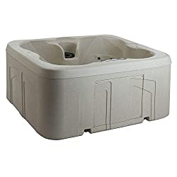 LIFESMART SPAS ROCK SOLID SIMPLICITY 4-PERSON 13-JET PLUG AND PLAY HOT TUB