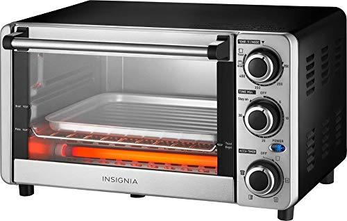 Insignia - 4-Slice Toaster Oven
