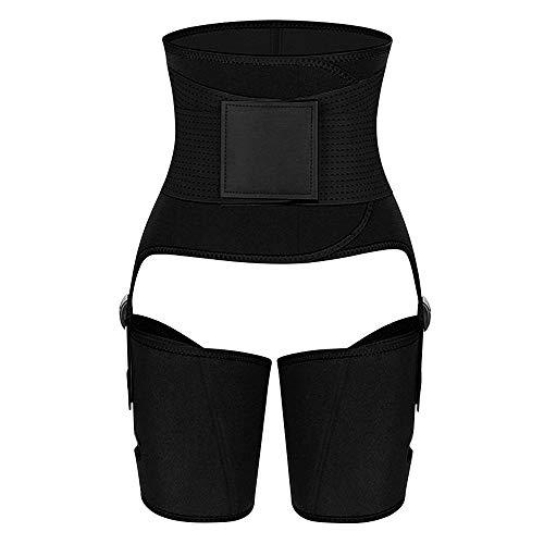KOOLSEN Waist Trimmer for Women Weight Loss 3 in 1 Waist and Thigh Trainer Butt Lifter Slimmer Plus Size Workout Body Belts