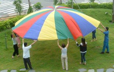 (Price/piece)Everrich EVC-0072 Parachutes (4 colors) - 16 handles - 20' or 6m