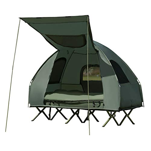 Tangkula 2-Person Outdoor Camping Tent Cot.