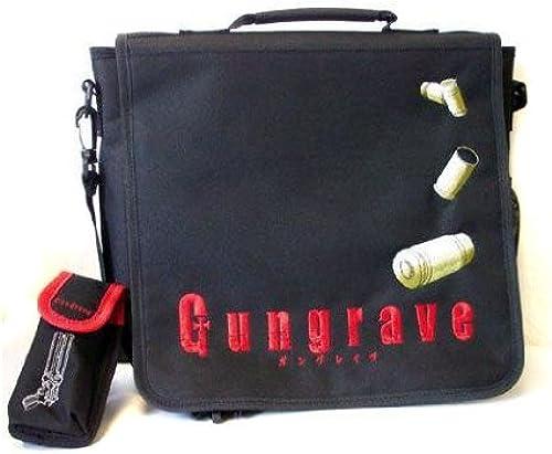 compra en línea hoy Balas Gungrave negro negro negro Bolso hombresajero  calidad auténtica