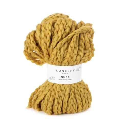 Katia Nube Concept – Color: Mostaza (56) – 100 g/aprox. 50 m de lana.