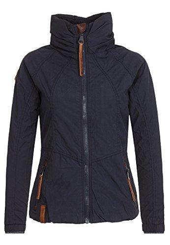 Damen Jacke Naketano Klatschen Und So Jacke, Farbe Dark Blue , Size XS
