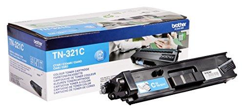 Brother Original Tonerkassette TN-321C cyan (für Brother DCP-L8400CDN, DCP-L8450CDW, HL-L8250CDN, HL-L8350CDW, MFC-L8650CDW, MFC-L8850CDW)