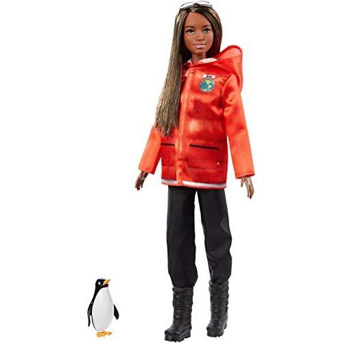Barbie- Carriere Biologa Marina Bambola Ispirata a National Geographic, Giocattolo per Bambini 3 + Anni, GDM45