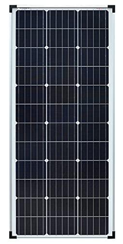 enjoysolar® Mono 100W 12V Módulo solar Panel solar Monocristalino ideal para autocaravanas