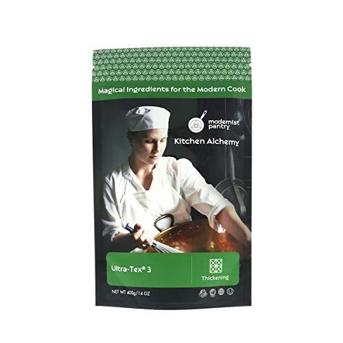 Pure Ultra-tex 3 ⊘ Non-GMO ❤ Gluten-Free ☮ Vegan ✡ OU Kosher Certified - 400g/14oz