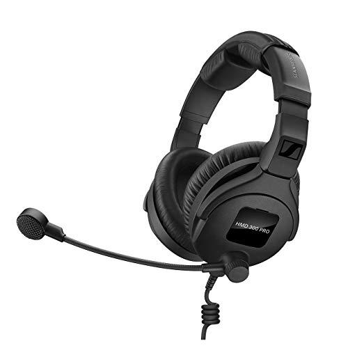 Sennheiser HMD 300 PRO Broadcast Headset mit Ultra-Linear Dual Sided Response & Dynamic Hyper-Nierenmikrofon, (ohne Kabel)