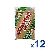 Nativo Comino Molido - Paquete de 12 x 50 gr - Total: 600 gr