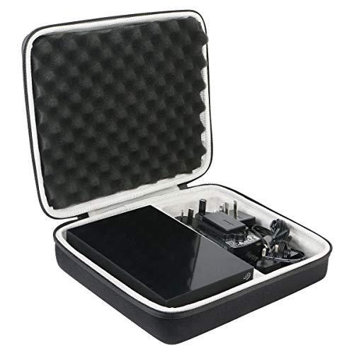 Khanka Tasche Schutzhülle case Für Seagate Expansion Desktop 8 TB Externe Festplatte 3.5 Zoll USB 3.0,passt für Amazon Exclusive /2019 Edition.(leerer Fall)