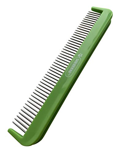 Pixikko Pet Grooming Comb with 360 Degree Rotating Pins for Cats,...