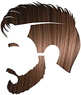 Manly Guy MEDIUM BROWN Hair, Beard, & Mustache Color: 100% Natural & Chemical Free
