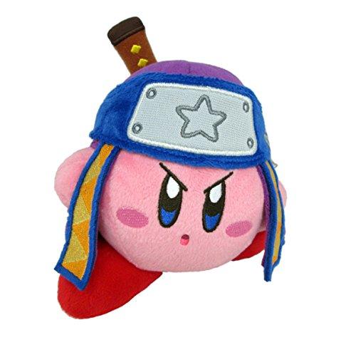 Little Buddy Kirby's Adventure All Star Collection Kirby Ninja Stuffed Plush, 5', Multi-Colored (1628)
