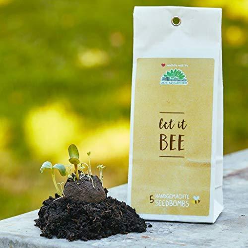 Die Stadtgärtner Samenbomben | Let it Bee | Seedbombs für Bienen | Wildblumen & Kräuter