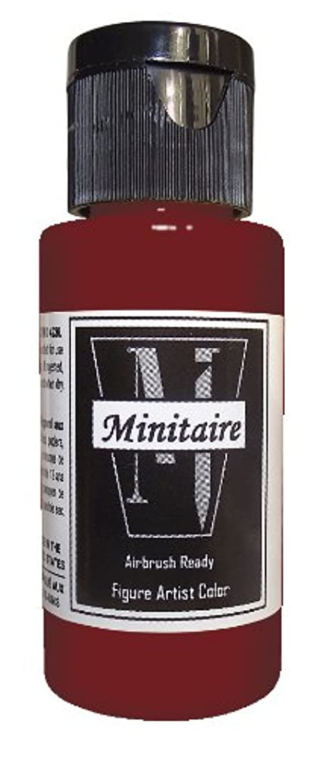 Badger Air-Brush Company 2-Ounce Bottle Miniature Airbrush Ready Water Based Acrylic Paint, Ghost Tint Fresh Blood