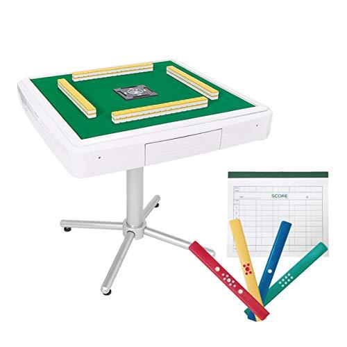 全自動麻雀卓 家庭用 AMOS JP2(アモス・ジェイピーツー) 座卓兼用タイプ カラー点棒+記録帳セット (30mm)