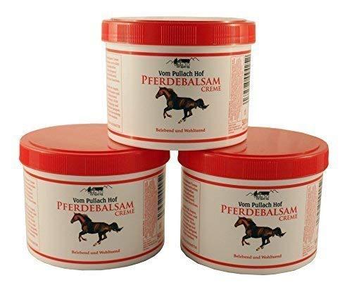 3 x 500ml Pferdebalsam-Creme vom Pullach Hof