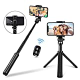 Best Bluetooth Selfie Sticks - UBeesize Selfie Stick Tripod, Extendable and Portable Monopod Review