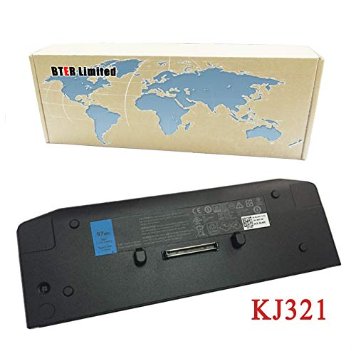 Bter 11.1V 97wh Laptop Battery KJ321 for DELL Latitude XT3 E6420 E6520 E6320 E5420 Slice base Battery Laptop