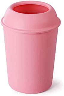 B-fengliu Poubelle Poubelle, Poubelle décorative gaspillent Papier Corbeille Bin Container for Salle de Bain, Chambre, Bur...