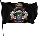 Viplili Flagge/Fahne, 75th Ranger Regiment Us Army Rangers Flags 3x5 Feet Garden House Outdoor Banners Decorative Flag