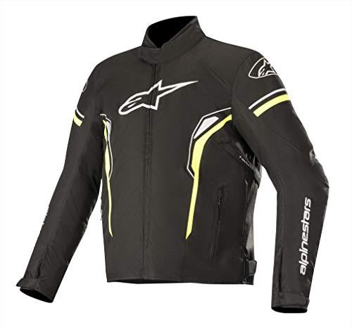Alpinestars Chaqueta moto T-sp-1 Waterproof Jacket Negro Amarillo, Negro/Amarillo, M (3200219155- M)