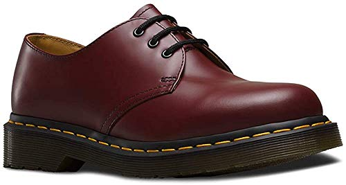 Dr. Martens Unisex-Erwachsene 1461 Smooth 59 Last Derby, Rot (Cherry Red), 48