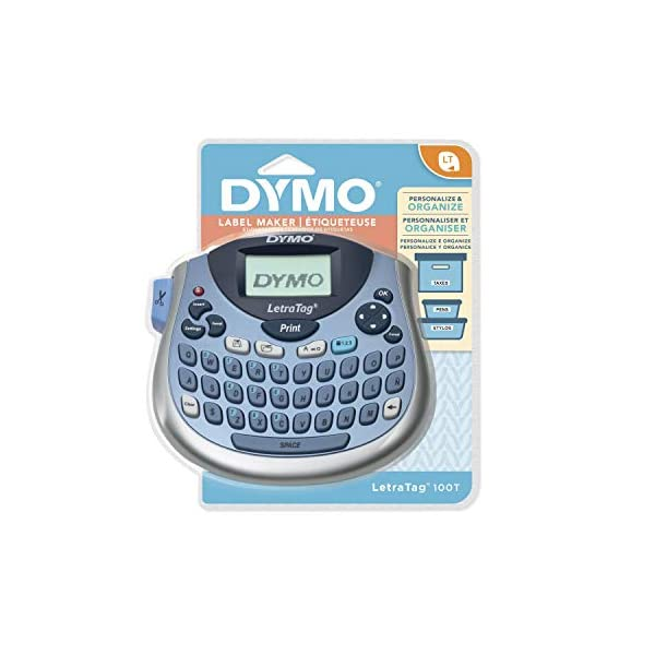 DYMO-LetraTag-Plus-LT-100H-21455-Negro-Color-Blanco-etiquetadora-Personal