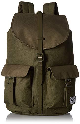 Herschel Unisex-Erwachsene Dawson Multipurpose Backpack, Olive Night Crosshatch/Olive Night, Classic 20.5L