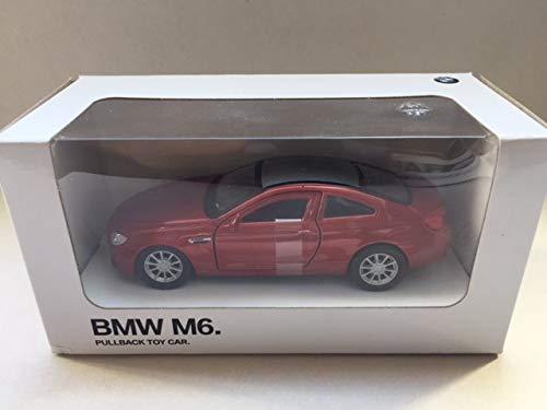 BMW Miniatur Pullback Car Aufziehauto Rückziehauto / 3.0 CSL / X6 M / i8 / M6 / 1:41 (M6)