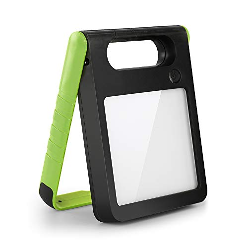 LUTEC Padlight 2500mAh 200LM Portable Solar Light Rechargeable with 3 Brightness Modes Waterproof Camping Lights Night Light Led Work Light Outdoor Green