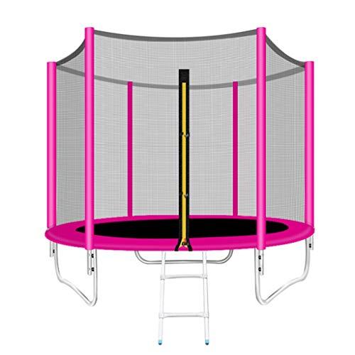 Trampoline Bounce Bed Fitness Volwassen Gym Thuis Kinderen Binnen En Buiten Springen Trampoline Met Beschermende Netten Bungee Bed Vierkant Outdoor Bounce Bed Beste Gift Gewicht 160kg-400kg