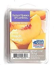 Better Homes and Gardens White Peach Mango Wax Cubes