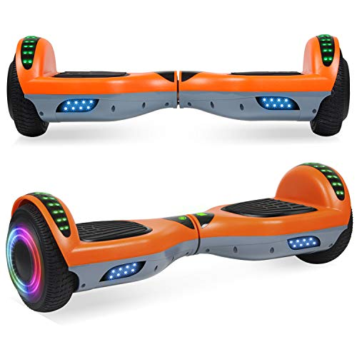 Learn More About EPCTEK Hoverboard for Kids with Bluetooth Speaker, 6.5 Two Wheel Electric Hover Bo...