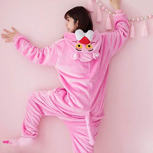 FZH Pijama Pijama de Franela de Dinosaurio Kigurumi para Mujer, Ropa de hogar de Invierno para...