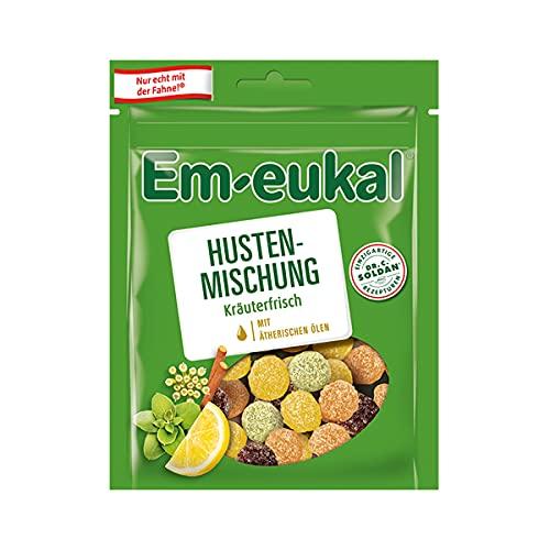 Em-eukal Husten Mischung kräuterfrisch mit feiner Zuckerkruste 90g