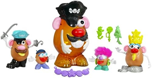 Mr. Potato Head - JUMBO-CONTAINER PIRAT - incl. 4   & über 45 Mix-and-Match Accessories - OVP - Toy Story - Playskool